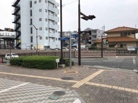 高崎アリーナ前の信号