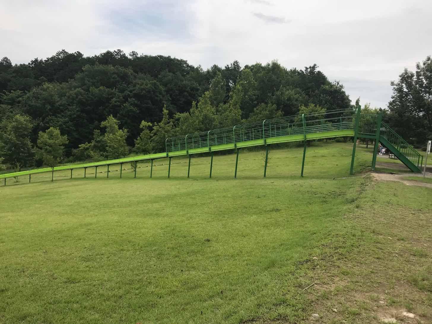 観音山ファミリーパーク-アクティビティ-ローラースライダー