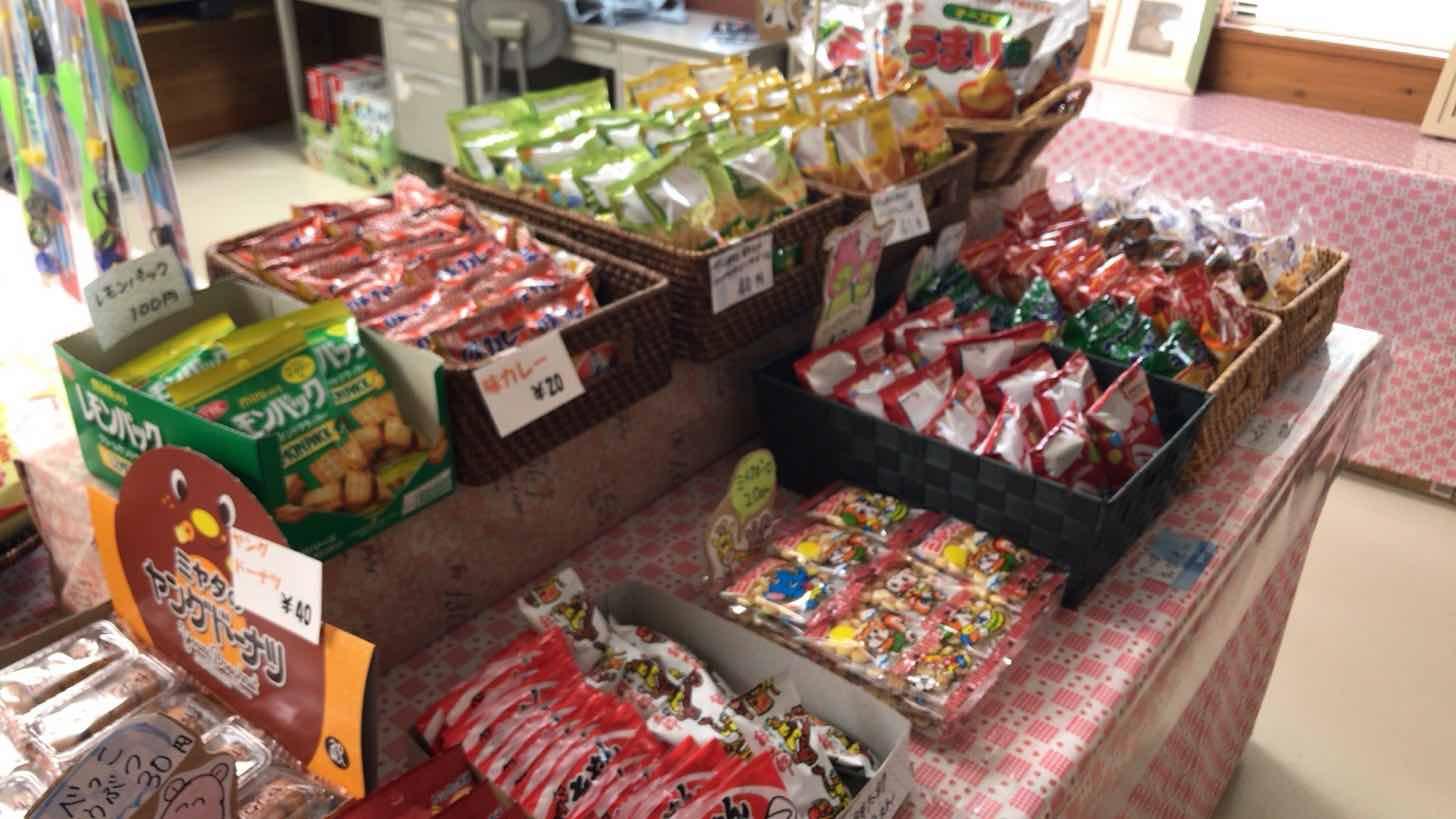 観音山ファミリーパーク-売店-駄菓子