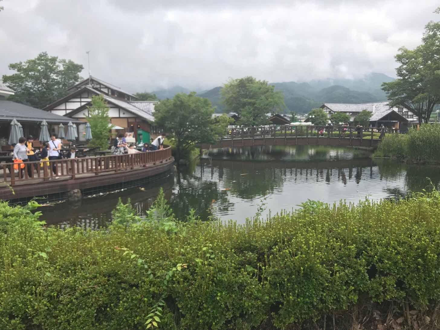 川場田園プラザ-アクティビティ-池