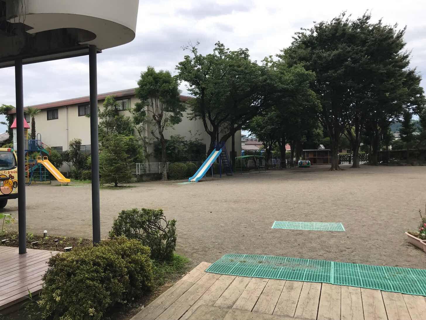 こだま幼稚園-園庭