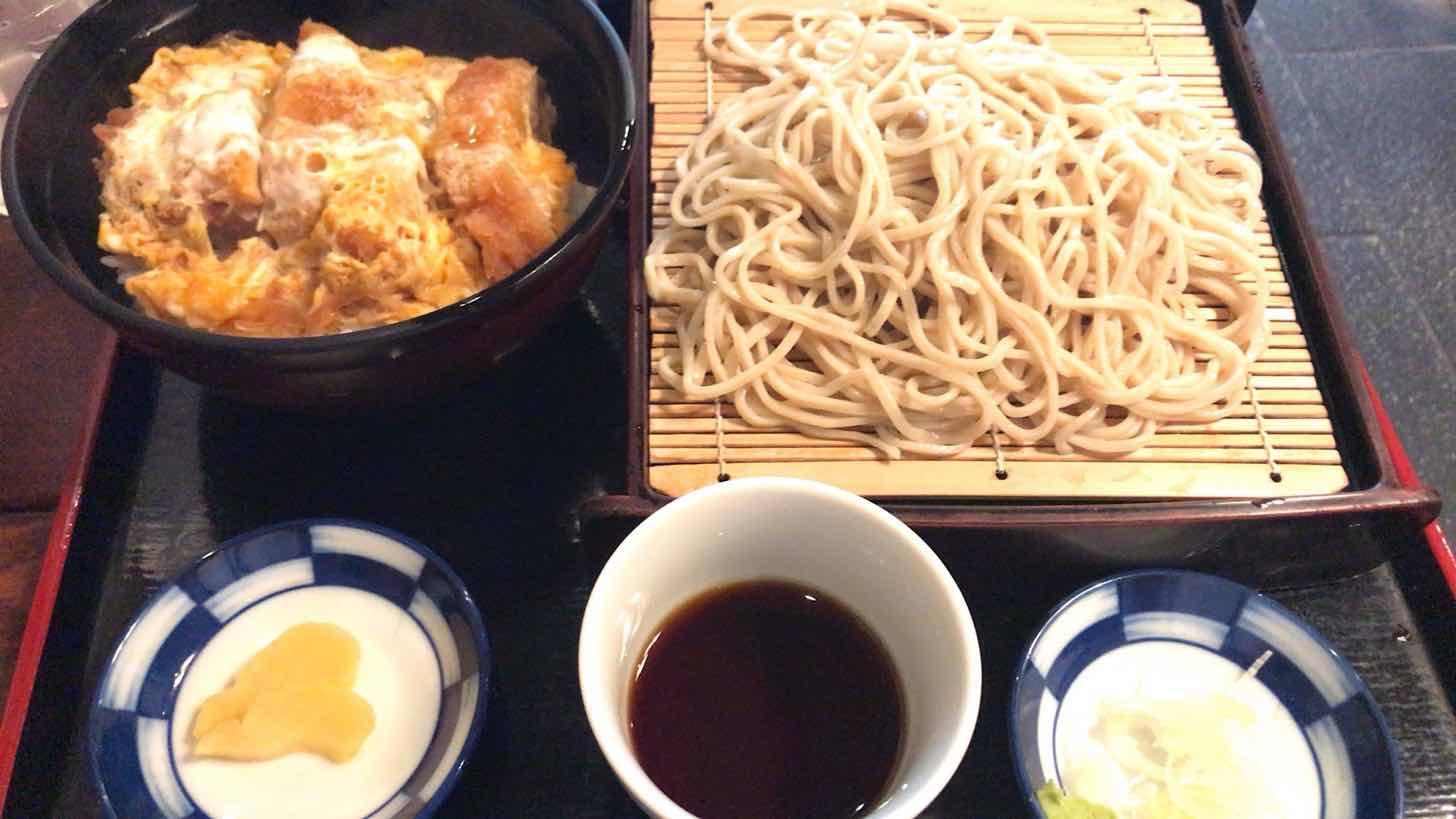 朝日屋-ミニかつ丼