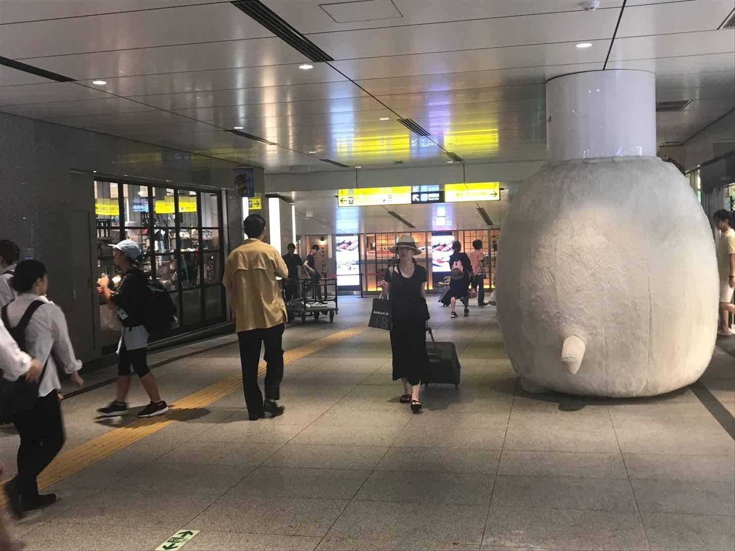 東京駅-すし好-アクセス5