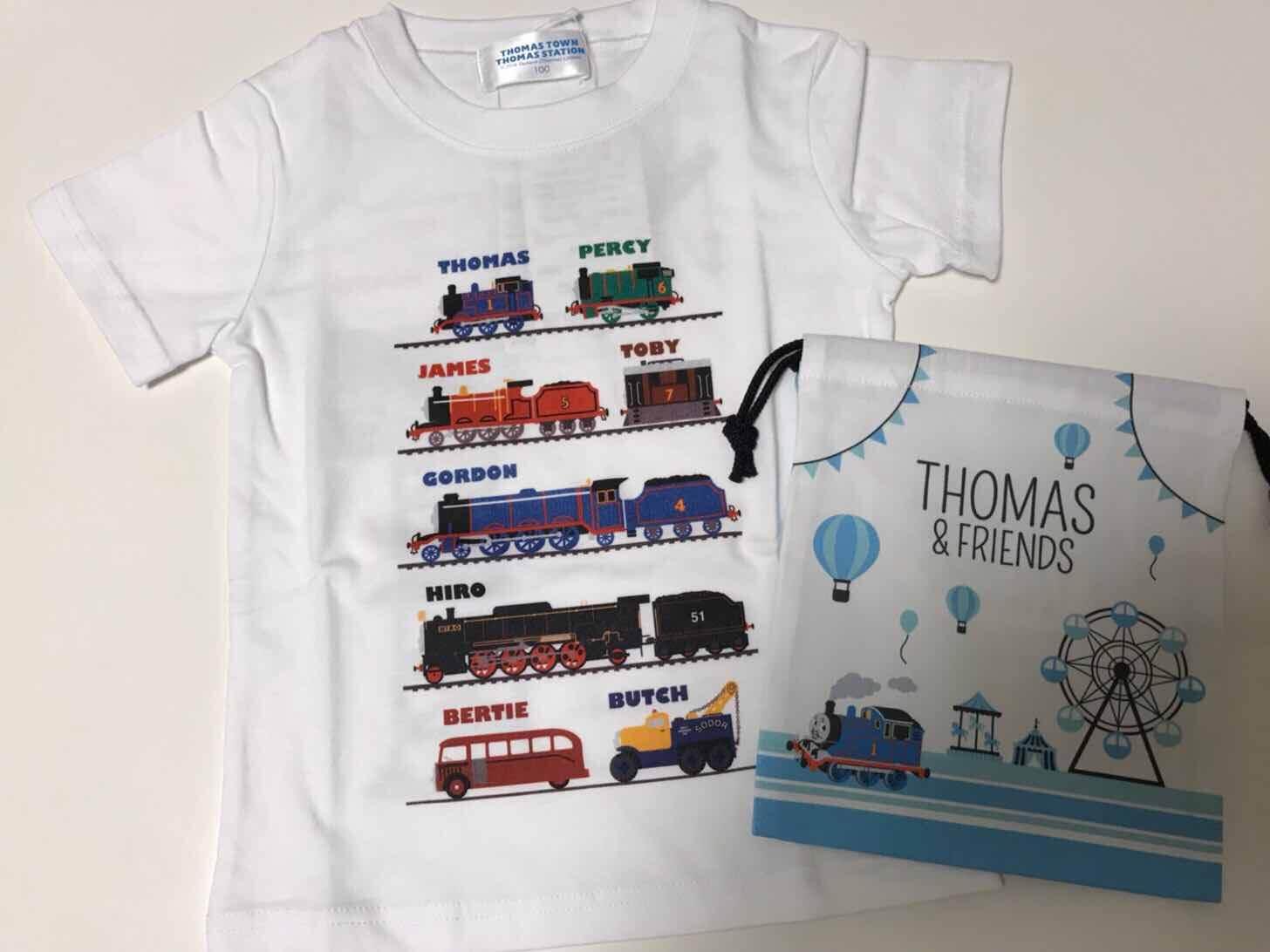 トーマス-Tシャツ